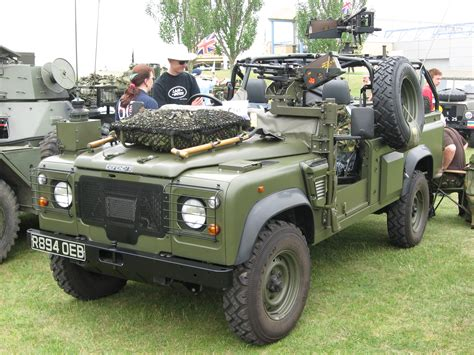 navy land rover duxford military vehicle show june 2010 land rover