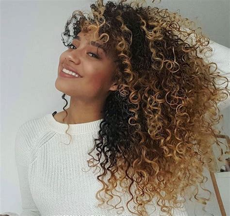 naturally thick black curly hair styles with bayalage color 644 best multi cultural hair images on pinterest black