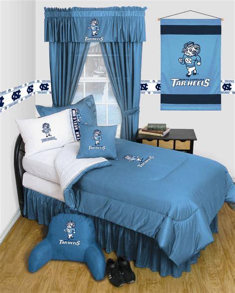 Unc Bedding Set Carolina Tarheels Unc Bedding Comforter Set Ebay