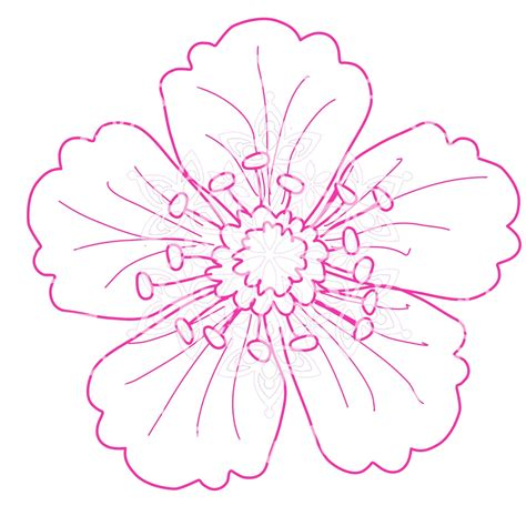design a flower magenta snowflake designs flower easel card thursday