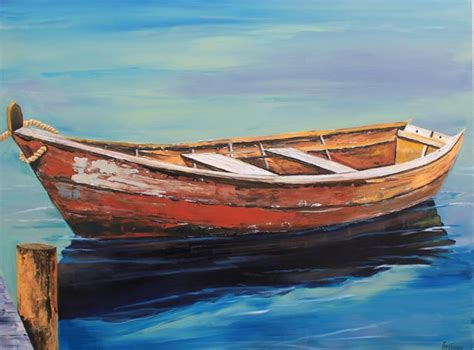 boat paint pictures paintings by tracy effinger upton old boat