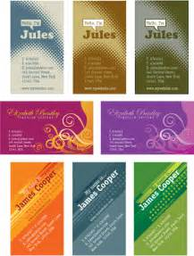 Adobe Illustrator Business Card Templates by Free Illustrator Templates Personal Business Cards