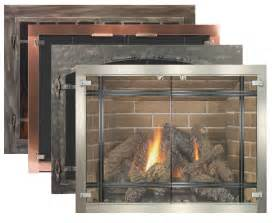 glass fireplace doors by stoll fireplace inc