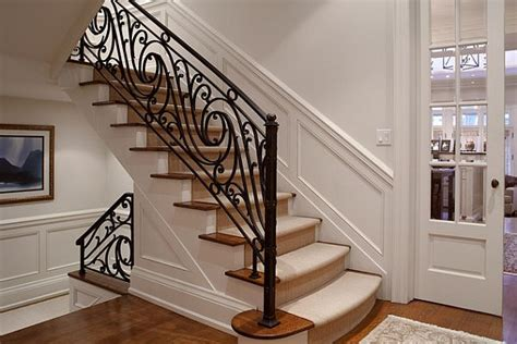 Banister Iron Works Picking The Ideal Stair Railing Design Style Decor Advisor
