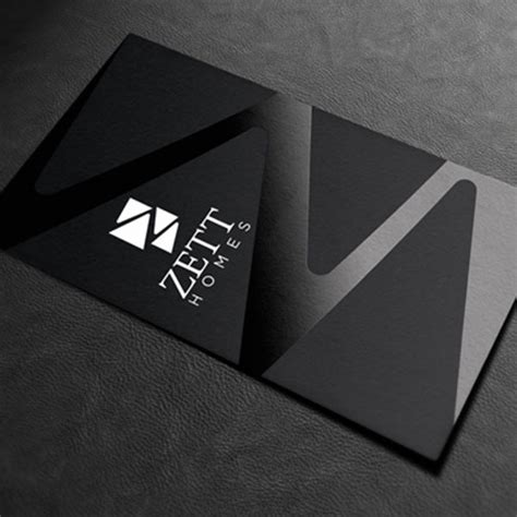 Aqueous Coating Business Cards
