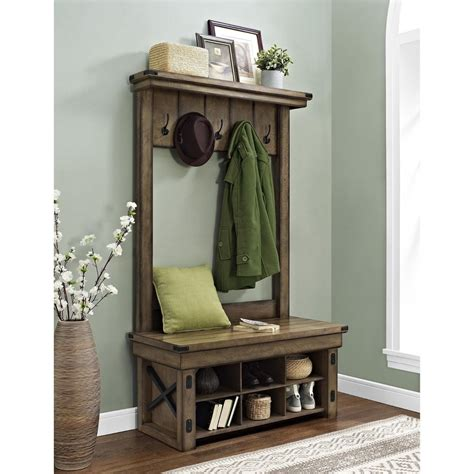 entry bench with coat rack entryway storage bench with coat rack great entryway