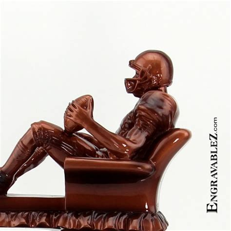 armchair qb 17 best images about fantasy football trophy on pinterest