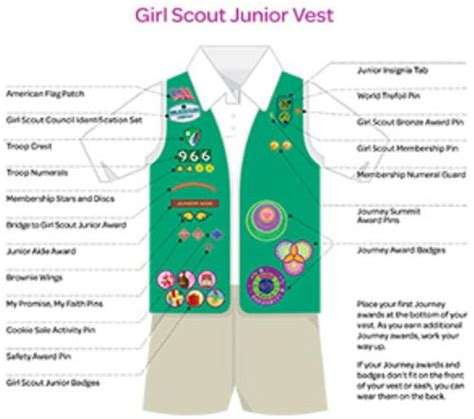 scout junior sash diagram scouts brownie patch placementdownload free
