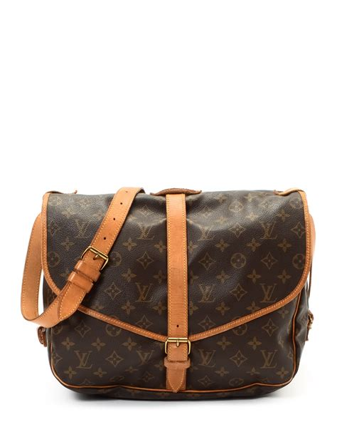 Louis Vuitton Tressage Classic 2993 lyst louis vuitton messenger bag vintage in brown for
