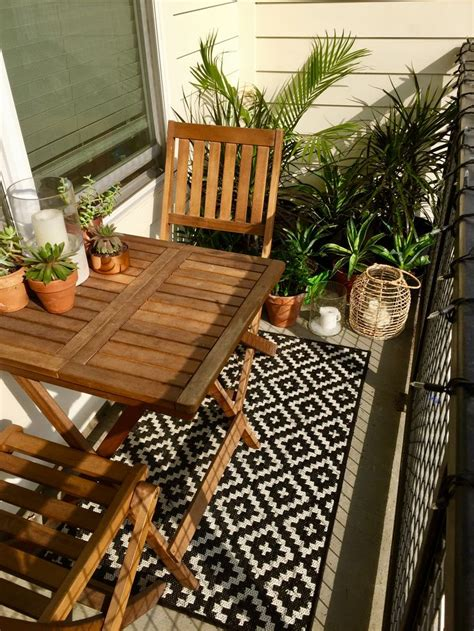 patio decorations best 25 small balcony furniture ideas on