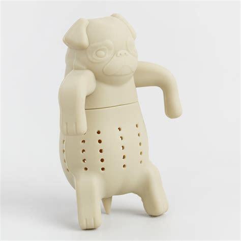 pug tea infuser pug in a mug silicone tea infuser world market