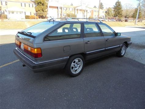 how to sell used cars 1987 audi 5000s navigation system 1987 audi 5000 s turbo quattro avant