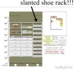 Ballard Designs Quality slanted shoe rack plans woodideas