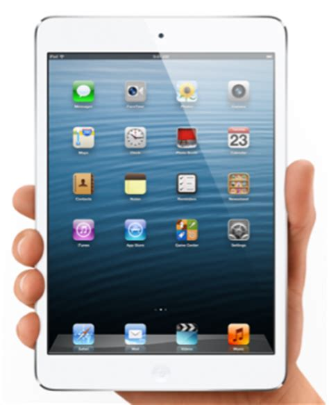 Tablet 10 Inch Apple mini a great 7 inch tablet but price a success barrier