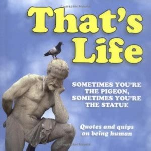 Sometimes In Youre The Pigeon And Sometimes Youre The Statue pigeon statue images quotes quotesgram