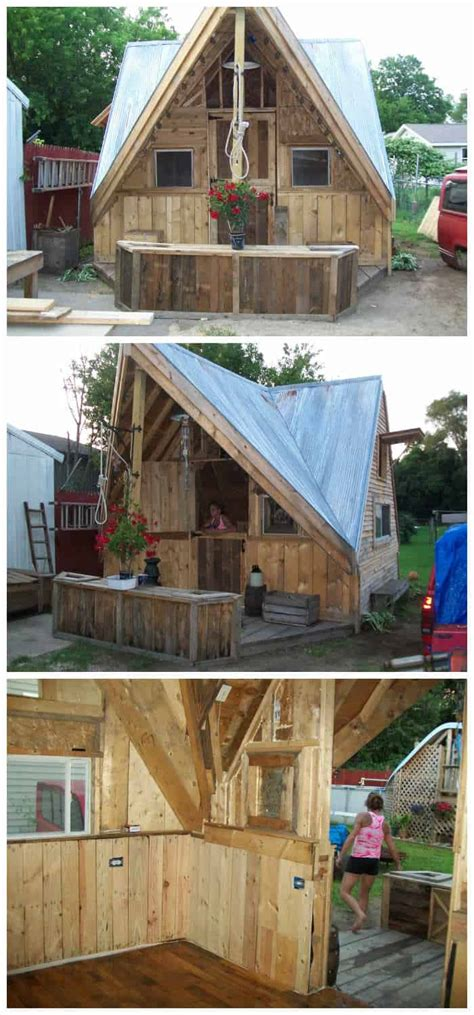 skid shack  reclaimed wood skid crates  pallets