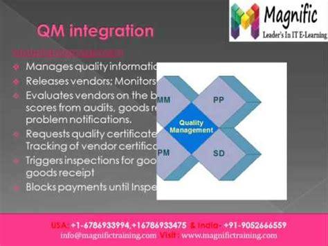sap qm tutorial pdf sap qm online training in india youtube