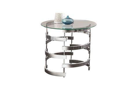 gardner white end tables glass chrome end table at gardner white