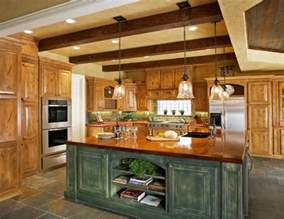Rustic Kitchen Lights 20 Rustic Kitchen Designs Ideas Design Trends