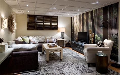 basement living room and bedroom basements decorating ideas by candice modern house fresh bedrooms decor ideas