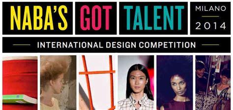 design competition milan naba s got talent milan italy international design