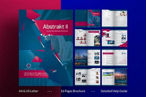 70 modern corporate brochure templates design shack gt gt 22