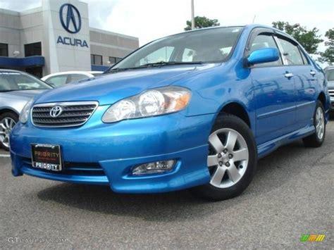 Blue Toyota Car Picker Blue Toyota Corolla