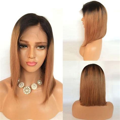 hair wigs glamorous remi human hair bob wigs 130 density brazilian