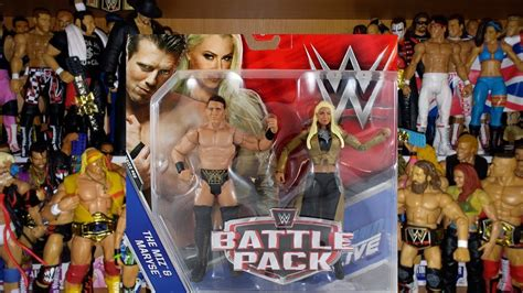 maryse figure review miz maryse mattel battle pack 46 wwe figure