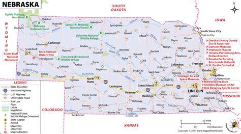 omaha nebraska usa map nebraska map map of nebraska ne map