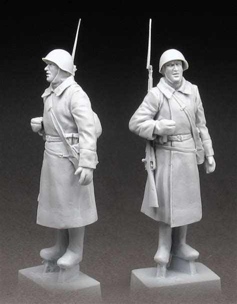 Resin Figures 135 Army Rifleman 1941 42 army rifleman 1939 43 findmodelkit
