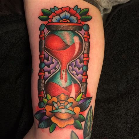 hourglass tattoo meaning 85 best hourglass designs and meanings time is