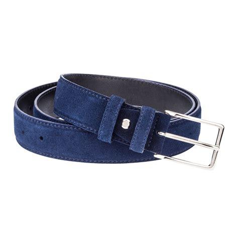 blue suede leather belt s belts navy dress suit
