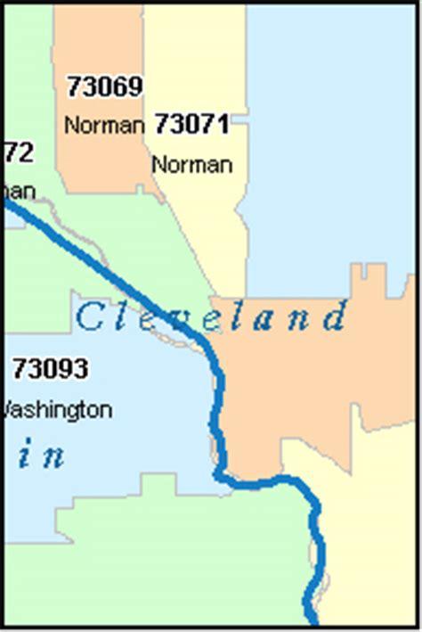 zip code map norman ok norman oklahoma ok zip code map downloads