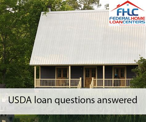 federal rural housing loans in depth usda home loans federal home loan centers