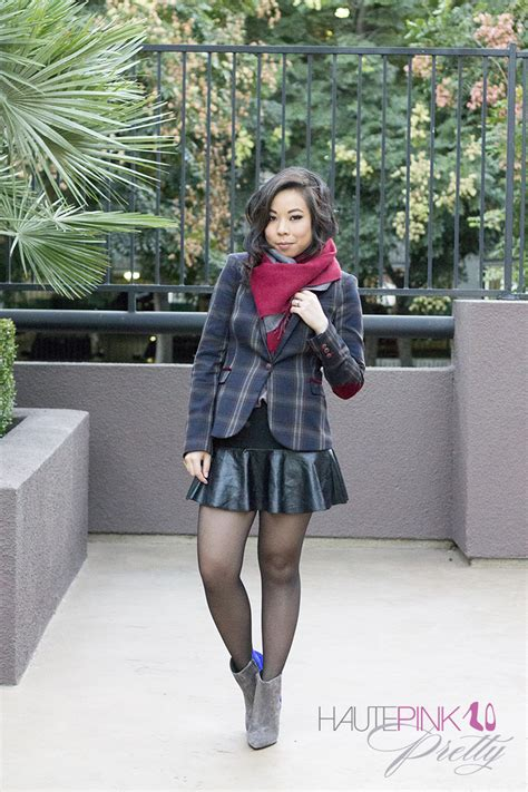 leather mini skirt boots
