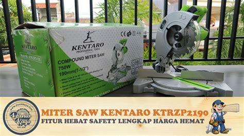Gergaji Potong Aluminium unboxing review tes mesin miter saw kentaro ktrzp2190 7 gergaji potong kayu aluminium safety