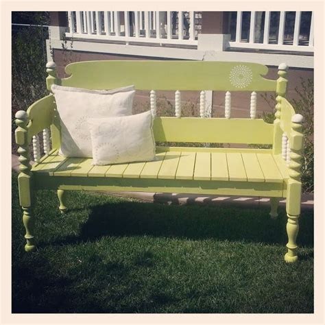 Bench Made From Bed Headboard by 25 Best Ideas About Bed Frame Bench On