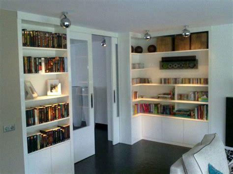 kast maken ensuite kamer en suite boekenkast schuifdeuren te boveldt