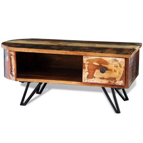 Vidaxl Co Uk Reclaimed Solid Wood Coffee Table With Iron Coffee Table Wood Legs