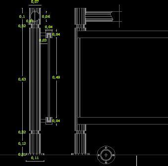 barandilla vidrio dwg barandas archives planos de casas planos de construccion