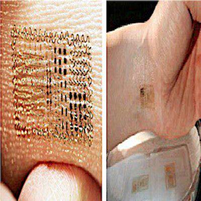 mark of the beast tattoo electronic to track your information a