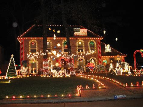 image gallery neighborhood christmas light displays