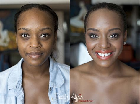 african american makeovers beauty affair before and after makeup beautyaffair