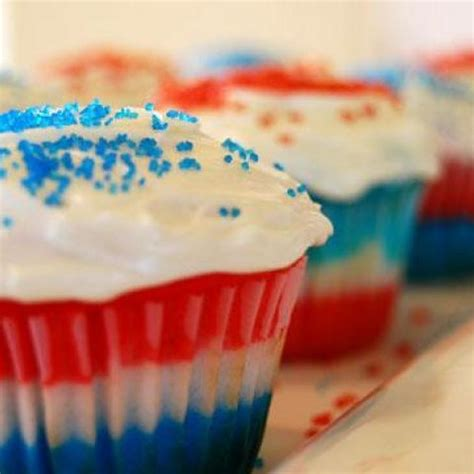 patriotic 4th of july cupcakes recipe recipes pinterest
