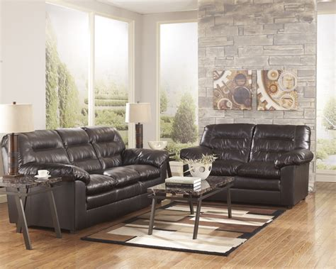 ashley sofa and loveseat ashley furniture black leather sofa and loveseat home
