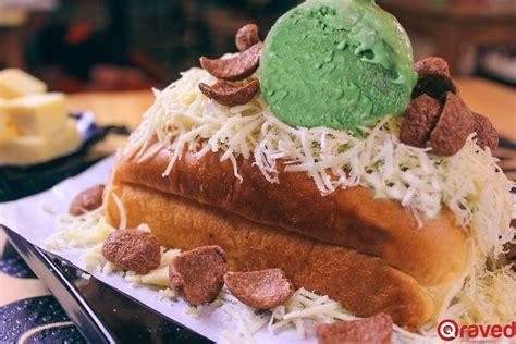 menu istimewa  roti bakar