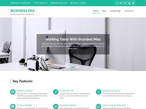 sikawa home business design theme directory free wordpress themes