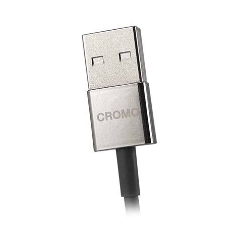 Lindy Usb 2 0 Type C M Micro B F 2m cromo slim usb 2 0 type a to micro b cable from lindy uk