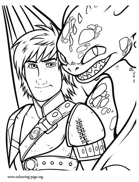 Coloring Pages Dragons 2 | how to train your dragon 2 hiccup and toothless coloring